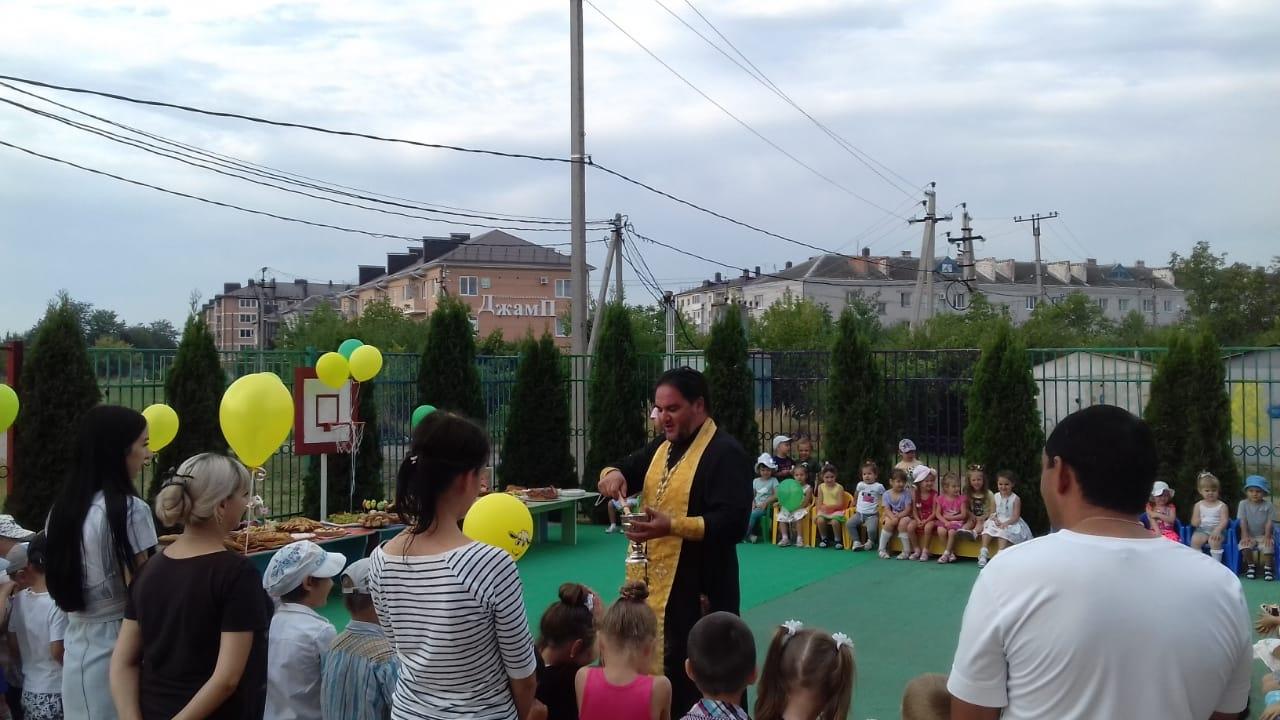 Протоиерей Сергий Андреев посетил детский сад