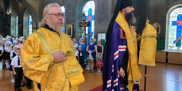 2 сентября 2019 года Епископ Армавирский и Лабинский Игнатий возглавил молебен перед началом учебного года в Вознесенском храме города Курганинска.